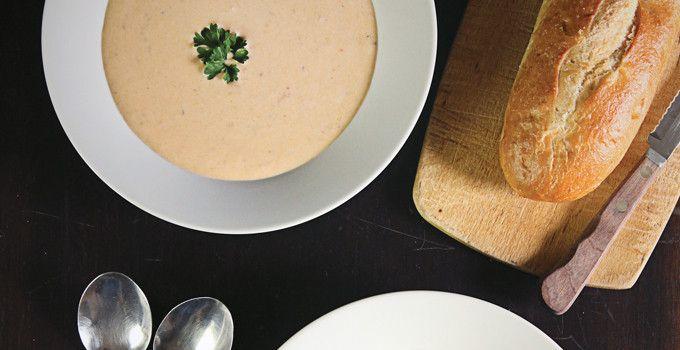 sopa e pao