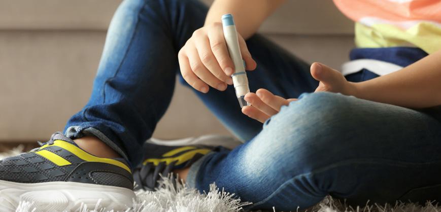 Crianças com diabetes tipo 2 Clube do Diabetes