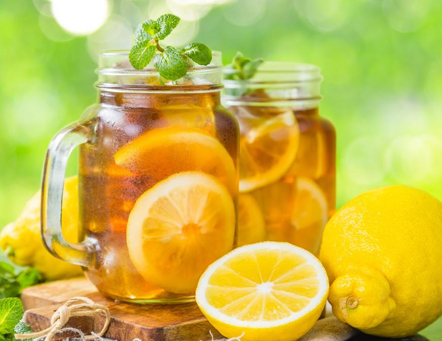 Receita zero açúcar Chá Mate com Limão Siciliano Clube do Diabetes